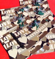 Love is a battlefield - #DIY #vday #crafts #valentinesday