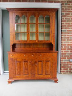 Early American Style Cabinet I Love The Tiger Maple Wood