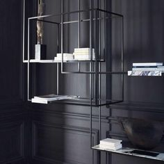 #design #black#contemporarystyle #shelfbook