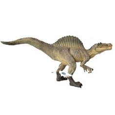 This Spinosaurus plastic dinosaur toy figure has an amazing amount of detail!