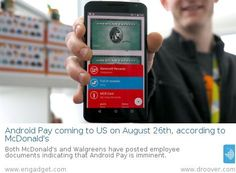 Android Pay coming to US on August 26th, according to McDonald's