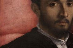 Reinhard Görner - DETAIL FROM: PICTURE OF A YOUNG MAN, 2008 | LORENZO LOTTO, 1526, PAINTING GALLERY, BERLIN