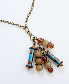 Loretta Necklace from Vibella artists in Haiti. Beauty and a great cause!