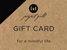 Shopping for someone else but not sure what to give them? Give them the gift of peace with a project full gift card! Gift cards are delivered by email and contain instructions to redeem them at checkout. Our gift cards have no additional processing fees. Someone Elses, Gift Cards, Peace, Digital, Gifts, Shopping, Products, Gift Vouchers, Presents