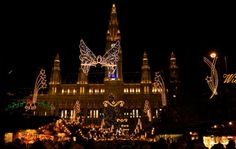 Mercatini di #Natale a #Vienna: il #Christkindlmarkt am Rathausplatz