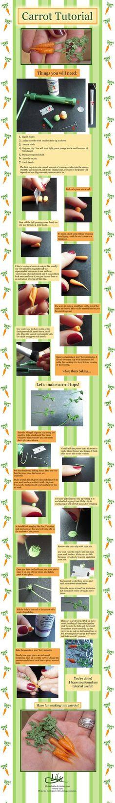 Tutorial de Super Carrot larga ~ lirio inabottle on deviantART