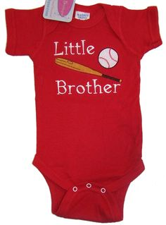 RK's Embroidery Boutique - Brother Baby Bodysuit or Romper, $12.95 (http://www.rksboutique.com/brother-baby-bodysuit-or-romper/)