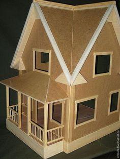 Кукольный дом ручной работы. Ярмарка Мастеров - ручная работа. Купить Кукольный домик № 3. Handmade. Домик для кукол