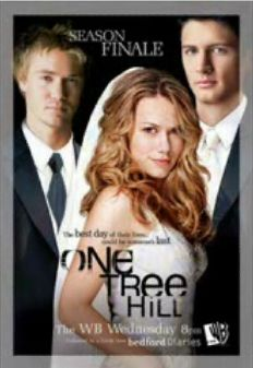 Poster for the season three finale of the WB TV show 'One Tree Hill' starring Chad Michael Murray, James Lafferty and Bethany Joy Lenz.