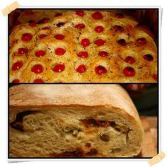 La focaccia e ilpane Dukan con pomodori secchi, sono due ricette che puoi mangiare dalla fase di crociera(seconda fase) della dieta Dukan. Queste due ric