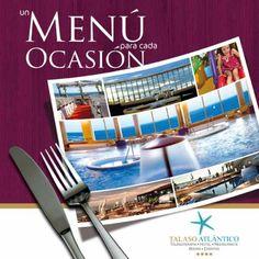 Un menú para cada ocasión: Cenas y eventos de empresas o grupos by Talaso Atlantico Hotel via Slideshare