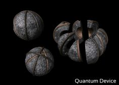 Continuum Kiera protector | The time travel device is a spherical object made up of eight parts.
