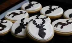 Deer Cookies for the Hunter