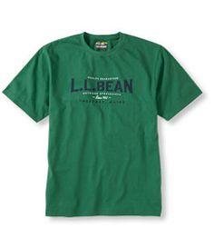 #LLBean: Carefree Unshrinkable Tee, L.L.Bean