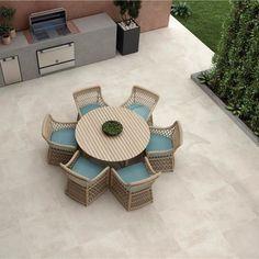 Large floor tiles | Extra large tiles | Direct Tile Warehouse Patio Tiles, Outdoor Tiles, Outdoor Flooring, Outdoor Spaces, Large Floor Tiles, Tile Floor, Contemporary Tile, Contemporary Garden, Insulated Garden Room