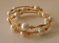 15 Indian Latest Pearl Bangles Designs