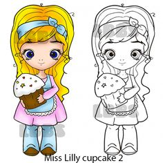 Miss Lilly cupcake 2