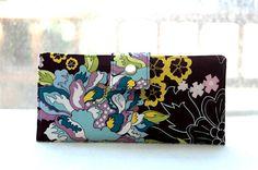 Handmade womens wallet   Handmade wallet vegan by happykathy, $49.00
