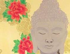 """Check out new work on my @Behance portfolio: """"Buddha wall painting for a residence, Mumbai"""" http://be.net/gallery/40730725/Buddha-wall-painting-for-a-residence-Mumbai"""