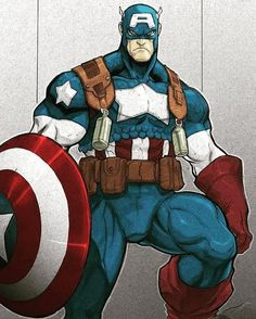 A Showcase of Captain America Artworks Xman Marvel, Marvel Comics, Arte Dc Comics, Marvel Art, Marvel Heroes, Marvel Characters, Captain Marvel, Captain America Pictures, Captain America Art