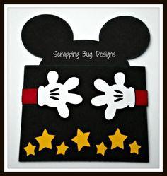 Boy Mouse gift card holder