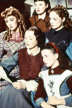 Little Women (1949) - starring June Allyson as Jo, Elizabeth Taylor as Amy, Margaret O'Brien as Beth, Janet Leigh as Meg and Mary Astor as Marmee