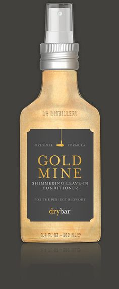 Gold Mine Leave-In Conditioner For Frizzy Hair @Drybar