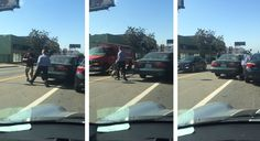 Man Nearly Loses His Head In Recent Hollywood, California Road Rage Incident