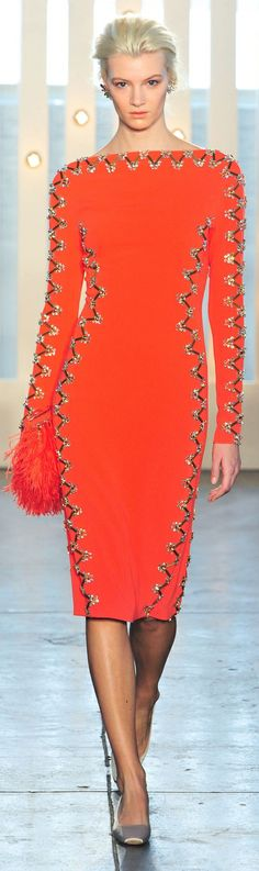 Jenny Packham Fall 2014 dress