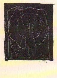 Lithographie - Joan Hernandez pijuan - Barcelona 89