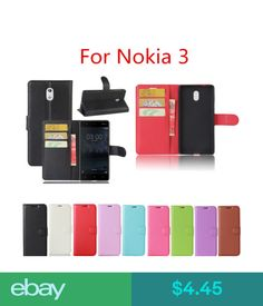 Cases, Covers & Skins For Nokia 3 Ta-1032 Ta-1020 Ta-1038 Flip Pu Leather Fitted Wallet Case Cover #ebay #Electronics