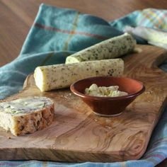 Recipe for easy compound butters using fresh herbs from the garden.