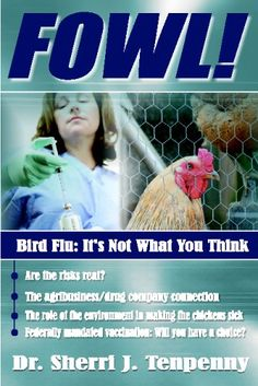 FOWL! Bird Flu: It's Not What You Think by Dr. Sherri J. Tenpenny http://www.amazon.com/dp/1932863877/ref=cm_sw_r_pi_dp_3ojWub19SV3TC