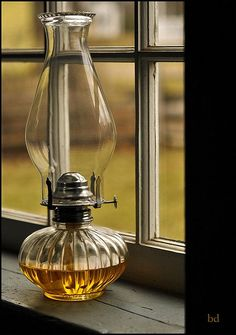 ~K. ~every farmhouse should have an oil lamp, or two...