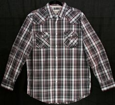 Belly Up Men's Long Sleeve Shirt - Charcoal   $43.00
