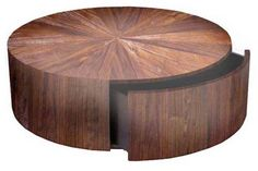 rustic round coffee table - Google Search