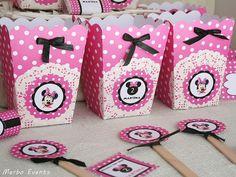 Cumpleaños Minnie Mouse Fucsia
