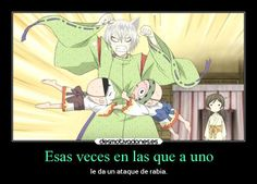 carteles amigos vida humor anime kamisama hajimemashita tomoe nanami rabia colera ataque veces desmotivaciones