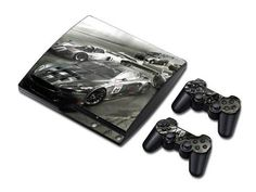 Need for speed sticker skin set for ps3 slim - Decal Design