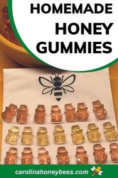 Eating Raw, Healthy Eating, Cooking With Honey, Homemade Gummy Bears, Processed Sugar, Honey Recipes, Fruit Snacks, Raw Honey, Us Foods