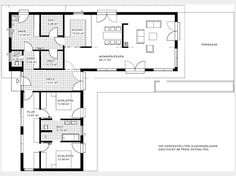 Hauspläne l-form  bungalow grundriss - Google-Suche | feasible floor plans | Pinterest ...
