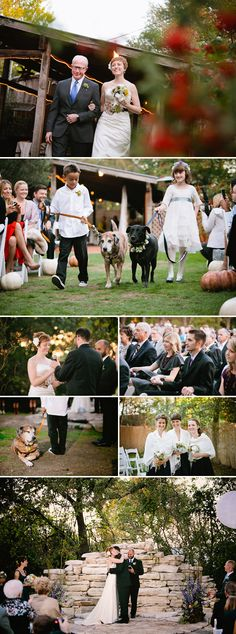Fall Halloween wedding at House on the Hill in Austin, Texas, photos by Caroline + Ben