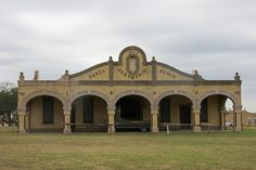 carriage house at the King Ranch in south Texas. The King Ranch is the biggest ranch in the United States, and has corporate interests in citrus farms in Florida and a pecan company in southern New Mexico.