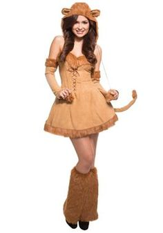 Sexy Plus Size Lion Costume - Halloween Costumes Lion Halloween Costume, Lion King Costume, Reindeer Costume, Lion Costumes, Halloween Ideas, Animal Costumes, Jaguar, Wonder Woman Art, Plus Size Halloween
