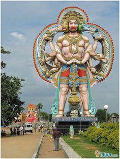 Panch Mukha Hanuman, Surendrapuri.  @ http://ijiya.com/8236114