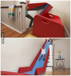 I don't care if I'm too old for this... I want one! I would build stairs specifically for this