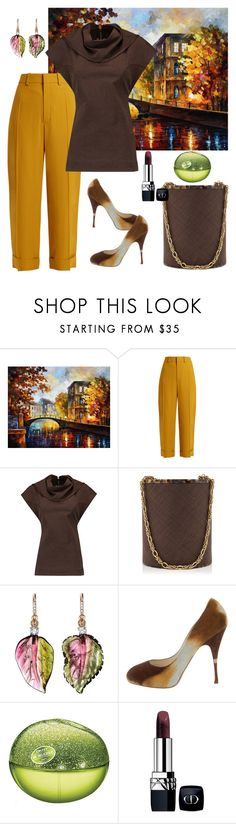 """""""Changing Seasons🍃🍂🌳"""" by parnett ❤ liked on Polyvore featuring Chloé, Rick Owens, Rebecca de Ravenel, Irene Neuwirth, Brian Atwood, DKNY and Christian Dior"""