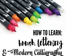 to get started in Hand-Lettering How to get started in Hand-Lettering, Fun Hobby, Give It A Try Today!How to get started in Hand-Lettering, Fun Hobby, Give It A Try Today! Pretty Writing, Fancy Writing, Lettering Brush, Creative Lettering, Calligraphy Letters, Modern Calligraphy, Learn Calligraphy, Hand Lettering Tutorial, Calligraphy Tutorial