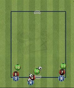 Soccer Drills For Kids, Football Drills, Soccer Practice, Soccer Skills, Soccer Tips, Kids Soccer, Soccer Coaching, Soccer Training, Soccer Motivation