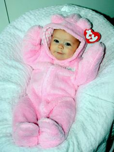 Beanie Baby for Halloween! Easy DIY costume! Okay this is what baby kree will be this year